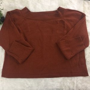 {St.John Sport} Orange Sweater Xl